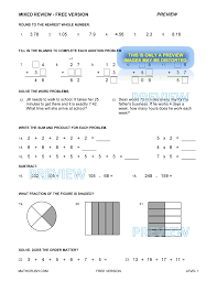 free version preview print answers preview of mixed review