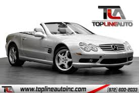 This is the most beautiful mercedes ever designed. 2003 Mercedes Benz Sl Class 2dr Roadster 5 4l Amg Top Line Auto Inc Auto Dealership In Dallas