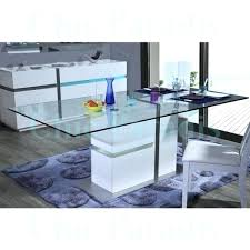 tiffany white high gloss rectangular coffee table with led lighting dining light in base lights