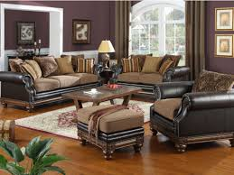 Leather Sofa Sets For Living Room Leather Furniture Elegant Brown Faux Leather Tufted Sofa Set With