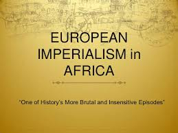 imperialism in africa essay