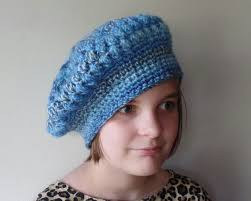 Crochet Beret Pattern Impressive CROCHET How To Crochet Puff Stitch Womens Beret Hat TUTORIAL 48