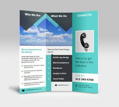 3 column brochure 25 tri folder brochure mockups psd vector eps jpg download