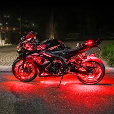 Where To Place Led Lights On Motorcycle Best Motorcycle Led Light Kits