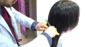 Hairdemonstration中島美嘉 髪型 ボブ髪型 ウルフレイヤー髪型