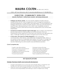 resume calgary wellness program coordinator sample resume