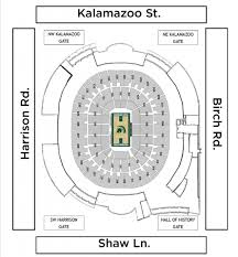 Seating Maps Breslin Student Events Center