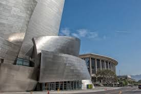 architectural buildings. Downtown Los Angeles: Disney Concert Hall Architectural Buildings T