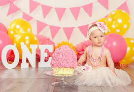 celebrate first birthday without a party