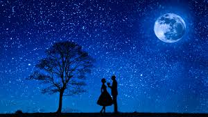 Image result for moon and couple
