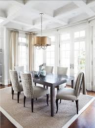 image of large contemporary dining room rugs
