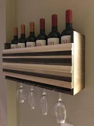 wall mounted wine glass rack wine glass rack in espresso finish
