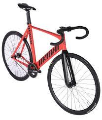 Unknown Bikes Fixie Fiets Singularity Rood Scherpste