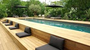 Rectangle above ground pool sizes Round Rectangular Above Ground Pools Pool Contemporary With Parasols Banqute En Deck Canada Rectangular Above Ground Pools