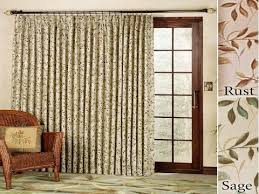Sliding Door Curtains | Ideas For sliding Door Curtains