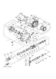 1986 yamaha moto 4 200 yfm200dxs drive shaft parts best oem drive