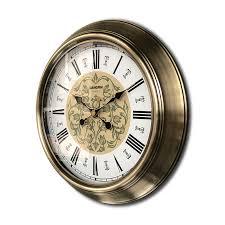 luxury wall clock vintage metal living