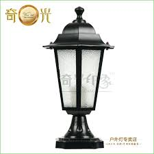 outdoor solar lamp post canada lighting led patio contemporary original