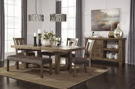 extendable dining room table by signature design by ashley. tall dining chairs | ashley porter round table extendable room by signature design a