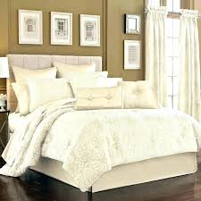 ivory bedding sets set five queens court jacquard 4 piece comforter quilt queen uk