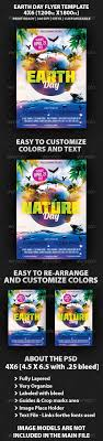 earth day flyer template by mikkool graphicriver earth day flyer template holidays events