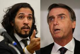Resultado de imagem para Fotos de Jean Wyllys encarando Bolsonaro