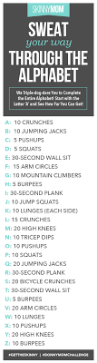 Exercise Through the Alphabet