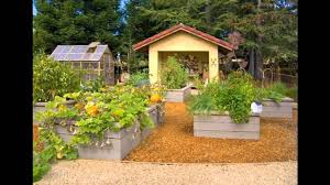 Simple Small raised bed vegetable garden design ideas - YouTube