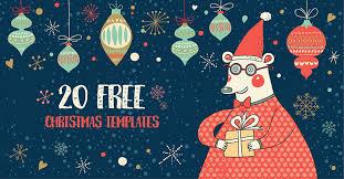 Spread The Joy With 20 Free Christmas Templates Crello Blog