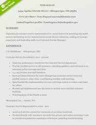 Awesome Customer Service Resume Skills Templates Support Examples
