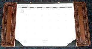 desk pad calendar on desk. Plain Desk Personalized Desk Pad Calendar Custom Leather Set  With On R