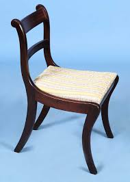 These Regency Style Chairs Look Great At Any Angle Front Of Chair Regency Furniture20