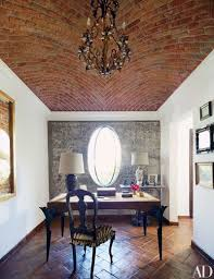 Interior office design photos Commercial In Designers Andrew Fisher And Jeffry Weismans Home In San Miguel De Allende Mexico Fisher Designed The Offices Desk And Embellished The Queen Anne 50 Home Office Design Ideas That Will Inspire Productivity