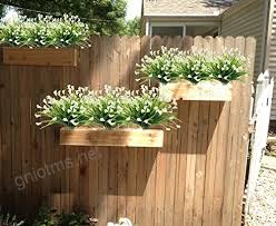 artificial flowers outdoor fake plants faux shrubs calla lily plastic greenery uv resistant window box 4
