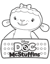Small Picture Lambie doc mcstuffins coloring pages ColoringStar