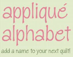 Appliqué Alphabet free templates. Add a name to your next quilt ... & Add a name to your next quilt! http:/ Adamdwight.com