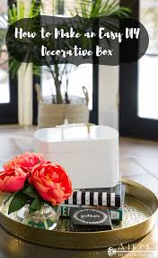 diy decorated storage boxes. You Won\u0027t Believe Just How Easy It Is To Make A Pretty Decorative Box Diy Decorated Storage Boxes