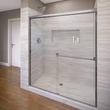 Basco Classic 40-in to 44-in Frameless Shower Door