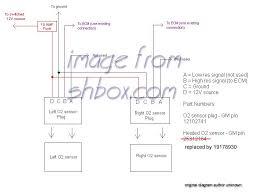 93 lt1 heated o2 sensors??? ls1tech camaro and firebird forum heated oxygen sensor conversion at Heated O2 Sensor Wiring
