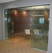 less commercial interior glass door interior sliding doors commercial double glass doors door