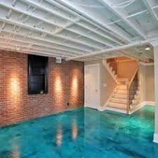 How to Finish a Basement Wall Concrete block walls Basement