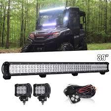 John Deere Gator Led Lights Details About Fit John Deere Gator Front 39 Led Light Bar Pods Wiring 620i Xuv 850d Xuv