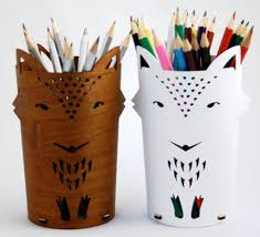 Accessories: Japanese Look Cool Pen Holders - Pen Cup Holder