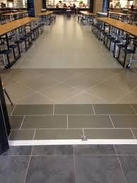square feet of shades porcelain tile stands up to the students of klein high school in houston tx