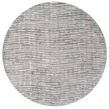 sherill grey 8 ft x 8 ft round area rug