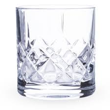 urban bar ginza cut crystal old fashioned whiskey rocks glasses 10 oz set of 6