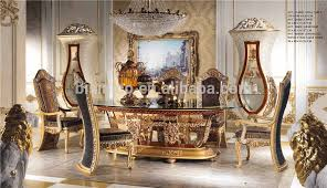 dining room table glass inlay. italian royal dining room furniture set,imperial wood carving and brass marquetry inlay glass top oval table set - buy