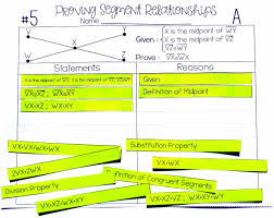 my proofs segment relationships proof activity activities students and school