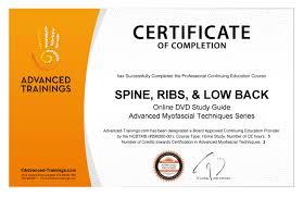 Spine Ribs Low Back Dvd Certificate Bundle Advanced Myofascial Techniques Til Luchau