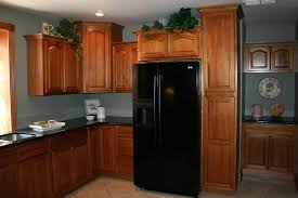hickory kitchen cabinets wood lowes